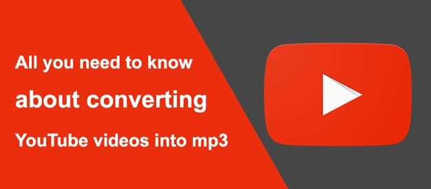 All You Need To Know About Converting Youtube Videos To Mp3 -